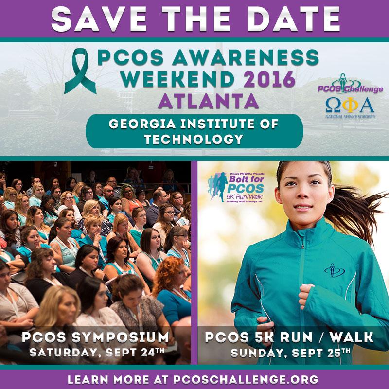 PCOS Awareness Weekend 2016 - Atlanta