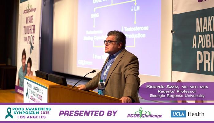 PCOS Symposium Speaker Ricardo Azziz