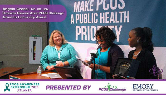 Ricardo Azziz PCOS Challenge Advocacy Leadership Award