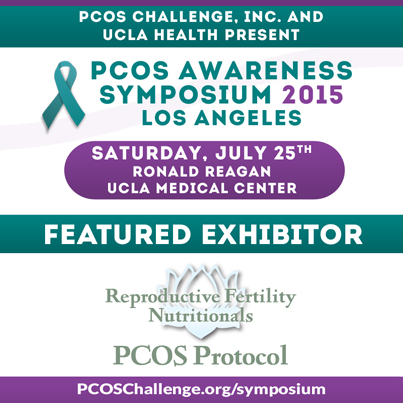 PCOS Symposium Sponsor - Reproductive Fertility Nutritionals