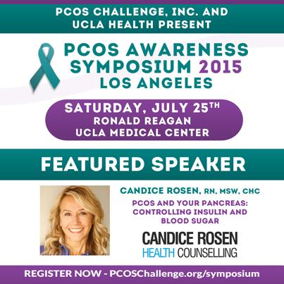 Candice Rosen, RN - PCOS Symposium Speaker
