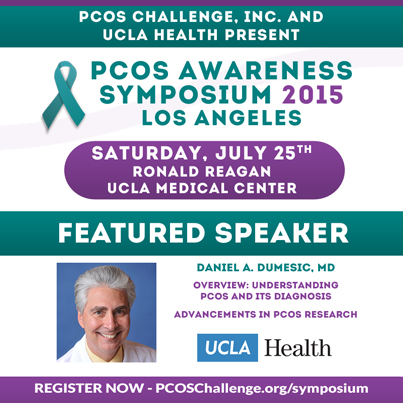 Daniel Dumesic, MD - PCOS Symposium Speaker