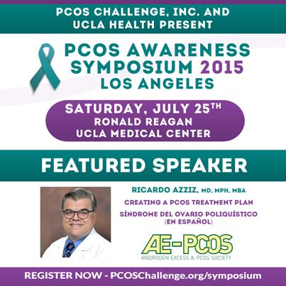 Ricardo Azziz, MD, MPH, MBA - PCOS Symposium Speaker