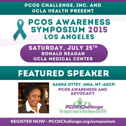 - PCOS Symposium Speaker