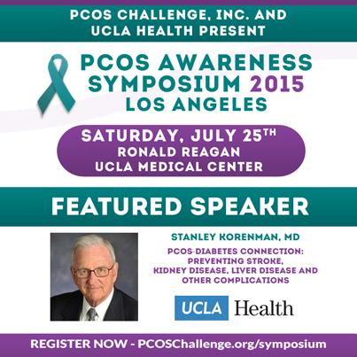 Stanley Korenman, MD - PCOS Symposium Speaker