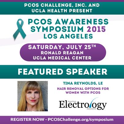 Tina Reynolds, LE - PCOS Symposium Speaker
