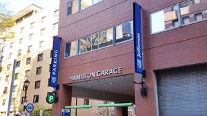 Hamilton Garage - PCOS Symposium Parking