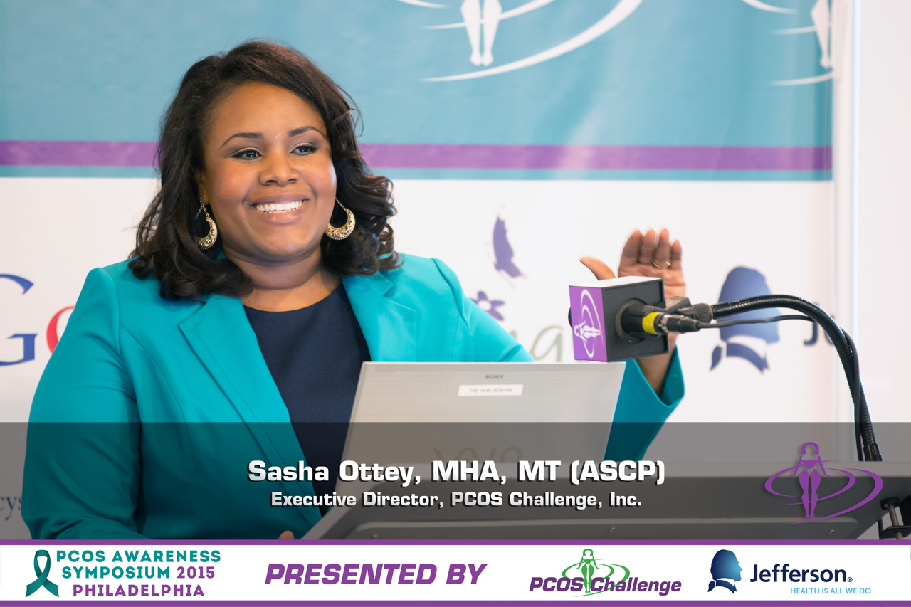 Sasha Ottey - PCOS Challenge Executive Director