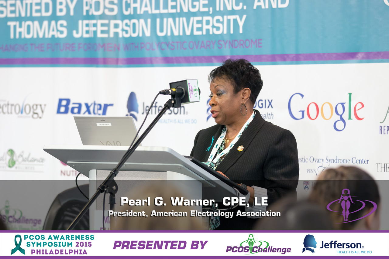 PCOS Awareness Symposium - Pearl Warner