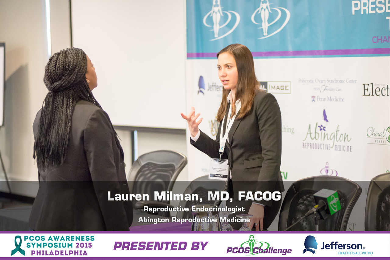 PCOS Awareness Symposium - Lauren Milman