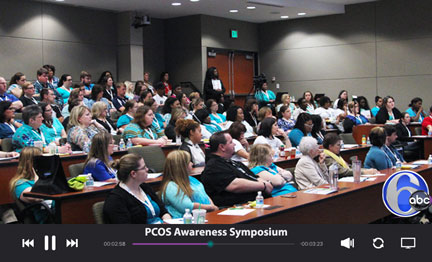 PCOS Symposium ABC News Channel 6